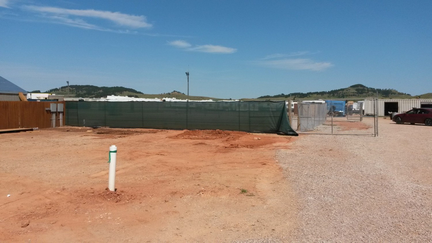 Temporary fencing panels in Rapid City SD