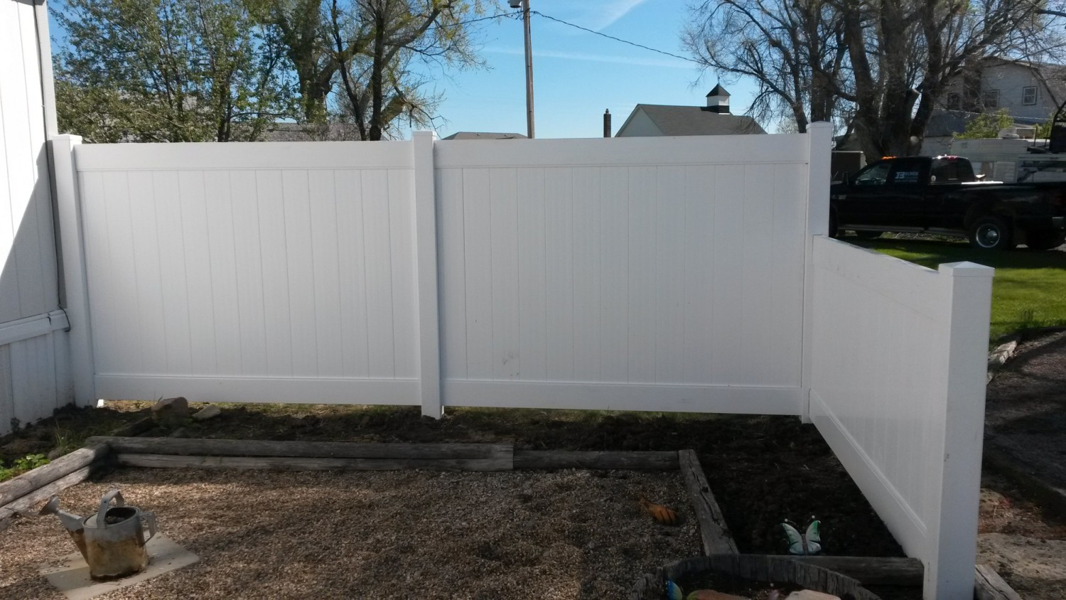 White Vinyl Fencing Country Estates Fence